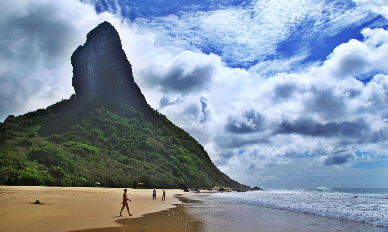 Praia Conceição Fernando de Noronha