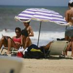 Jose Ignacio family on beach