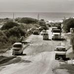 Jose Ignacio beach traffic