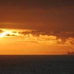 Jose Ignacio sunset view of Punta del Este