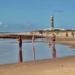 Jose Ignacio El Faro and beach reflection