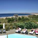 Pousada del Faro pool view noon