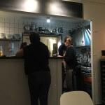 Cinq restaurant Tourrettes-sur-Loup service