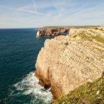 Cabo de Sao Vicente cliffs