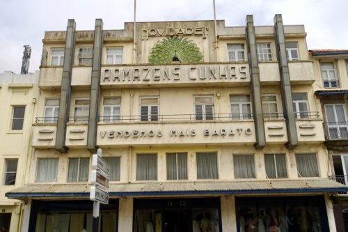 Porto art deco building
