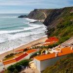 Praia Arrifana houses