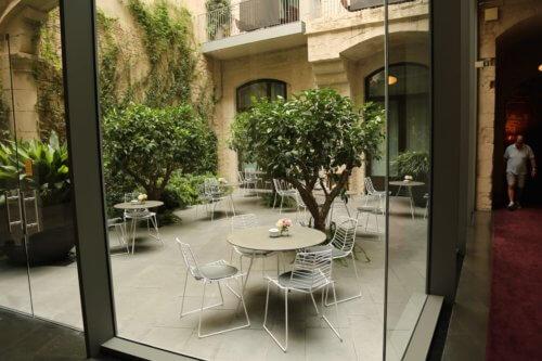 The Mercer Barcelona courtyard