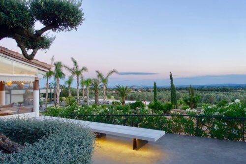 Hotel Mas Lazuli view from hotel